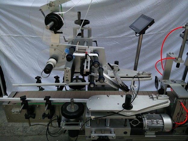 د Plc مشهور جاپاني میتسوبي برانډ فلیټ سطح لیبل غوښتونکی ماشین