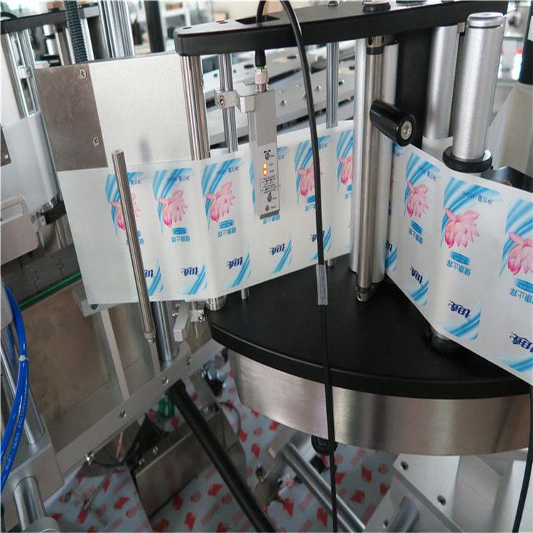 اتوماتیک واحد / ډبل اړخ هیکسګون پړاو بوتل سټیکر لیبل کولو ماشین